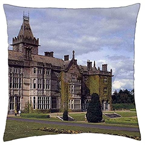 'Adare Manor Comté de Limerick Irlande–Throw Pillow Cover Case (16