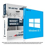 Microsoft Windows 8.1 Professional (PRO). Original-Lizenz. 32 bit & 64 bit. Deutsch. MS Audit Sicher + ISO DVD, Lizenz. Inkl. Papiere, Zertifiziert Bild