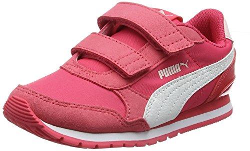 Puma Unisex-Kinder ST Runner v2 NL V PS Sneaker, Paradise Pink White, 34 EU Kinder Classic Nylon