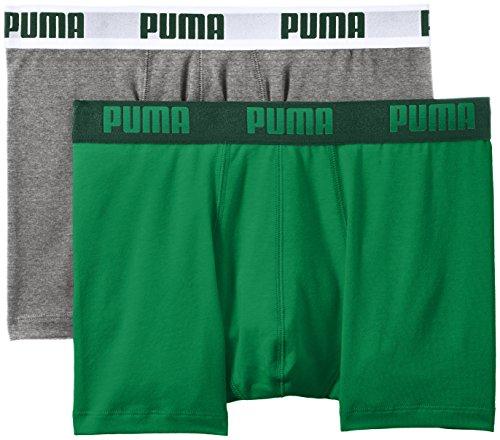 Boxershorts Puma (PUMA Herren Bodywear Basic Boxer 2P, Amazon Green, XXL, 521015001)