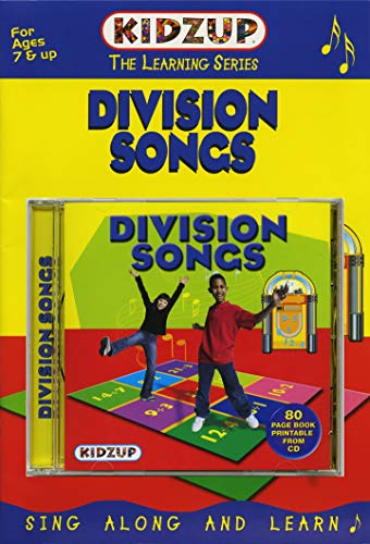 The Learning Series // Division Songs / 80 Page Book Printable From Cd (Division-songs)