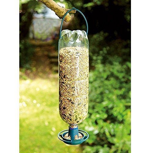 erhaus Kit Kabelmanagement Aufhängen Vogel NK Bott Recycle Drink S in Feeder 4 x Flasche Top Anleger Flaschen in Futterstationen ()