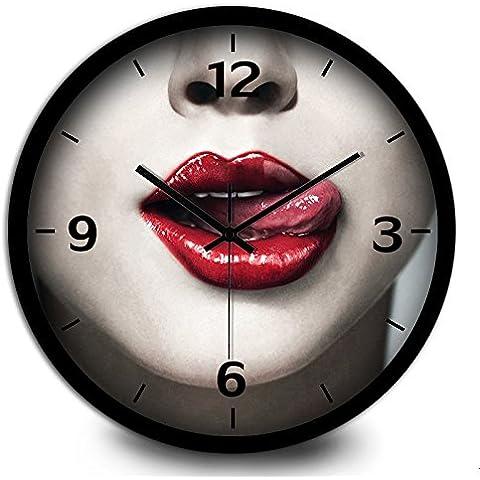 FEI&S Bar caffè decorativi orologi da parete e creative orologio