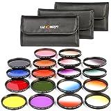 K&F Concept 67mm Filter Kit Ronde Polychrome + 9 Kit de Filtres pour Nikon D5300...