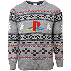 Official PlayStation Console Christmas Jumper / Ugly Sweater (UK XS/US 2XS)