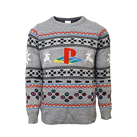 PlayStation Official Console Christmas Jumper / Sweater (Large) (M Und S Christmas Jumper)