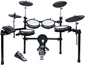 VAULT 4-Piece Electronic Drum Kit (Black, ED5) (ED10M-5 piece drumkit)