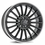 KESKIN KT15 TITAN GREY LIP POLISH 9,5x18 ET45 5.00x112.00 Hub Hole 66.60 mm - Alu felgen
