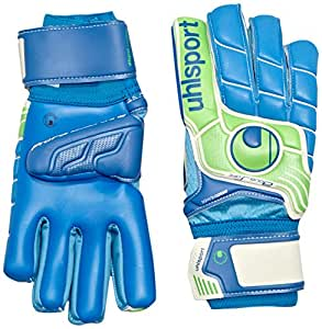 Uhlsport Fangmaschine Aquasoft HN Windbreaker Gants de gardien de but Pacific/Vert fluo Taille 8,5