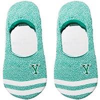Preisvergleich für Maivasyy 3 Paar Socken Boot Socks Frauen Unsichtbar Silikon Rutschhemmend Kurze Damen Frühling Sommer Socken, Grün