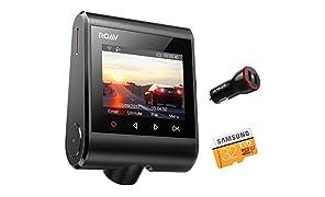 """Dashcam Anker ROAV GPS C1 Pro, Wifi Auto Kamera mit 2K Aufnahmen, 2.4"""" LCD Display, 1080P Full HD, 145° Weitwinkel, G-Sensor, WDR, Nacht Modus, inkl. 32 G SD Karte und Kfz Ladegerät"""