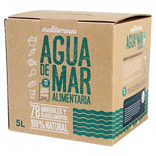 Mediterranea Agua de Mar Alimentaria 5 Litros