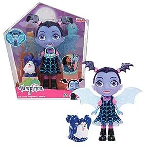 Giochi Preziosi Vampirina Doll Glow, con Funzioni, Luci e Suoni, Multicolore, 24 cm VAM15000