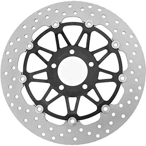 MGEAR Bremsscheibe 21-003-A-BK, Einbauposition:Vorderachse links, Marke:für SUZUKI, Baujahr:2002, CCM:1200, Fahrzeugtyp:Street, Modell:GSF 1200 Bandit