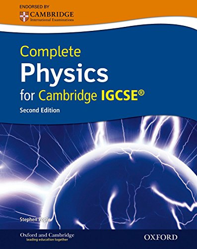 Complete physics for Cambridge IGCSE. Con CD. Per le Scuole superiori