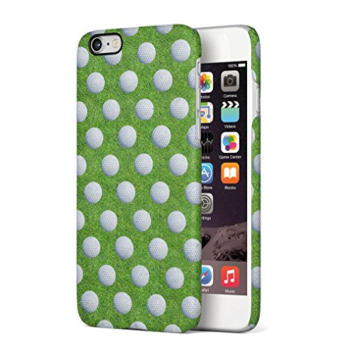 Basketball Arena Pattern Apple iPhone 6 / iPhone 6S SnapOn Hard Plastic Phone Protective Custodia Case Cover Golf Balls