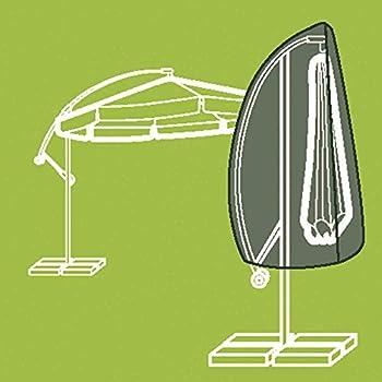 greemotion schutzh lle sonnenschirm 3m durchmesser schirmh lle ampelschirm in grau. Black Bedroom Furniture Sets. Home Design Ideas