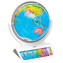 Oregon Scientific - SG338 - Globo terráqueo interactivo Smart Globe™ Infinity, Blanco