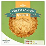 Morrisons Cheese & Onion Quiche, 400g