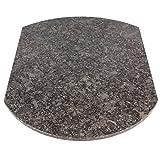 Multigleiter® Granit Steel Grey Multi-Gleitbrett für den Thermomix® TM5 und TM31, Küchengleiter