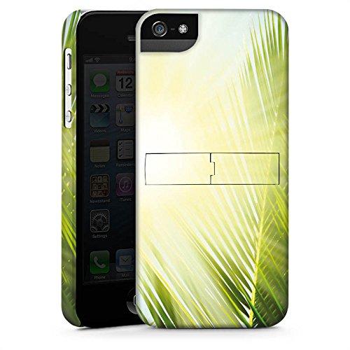 Apple iPhone X Silikon Hülle Case Schutzhülle Palme Sonne Urlaub Premium Case StandUp