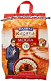 #1: Daawat Rozana Mogra Rice, 10kg with Free Glass