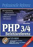 PHP 3/4 Referenz, m. CD-ROM bei Amazon kaufen