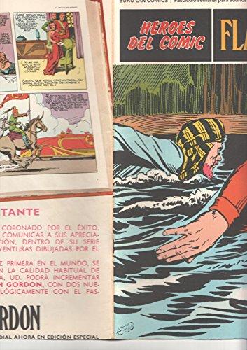 Flash Gordon de Burulan numero 021 (numerado 3 en trasera): Persecucion implacable