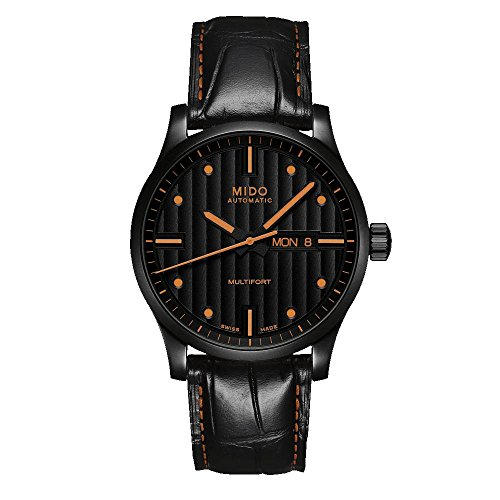 mido-mens-multifort-42mm-black-leather-band-ip-steel-case-automatic-analog-watch-m0054303605180
