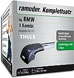 Rameder Komplettsatz, Dachträger WingBar Edge für BMW 3 Kombi (119012-10266-2)