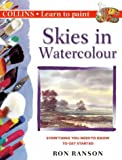Cover of: Collins Learn to Paint – Skies in Watercolour | Ron Ranson