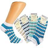 DAMEN SNEAKERS,8 PACK, Baumwolle ÖKO-Tex Standard 100 zertifiziert