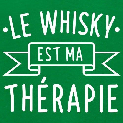 Le whisky est ma thérapie - Femme T-Shirt - 14 couleur Vert