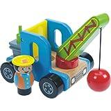 Bagger Abrissbagger Holz Holzspielzeug BJ346 [Spielzeug]