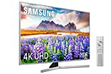 Samsung 4K UHD 2019 55RU7475 - Smart TV de 55' con Resolución 4K UHD, Wide Viewing Angle, HDR (HDR10+), Procesador 4K, Diseño Metálico, Premium One Remote, Apple TV y Compatible con Alexa