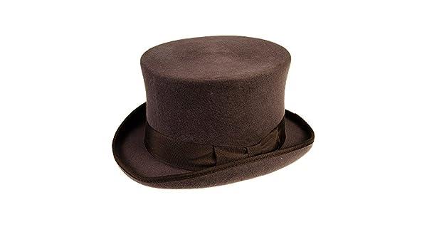 Small Major Wear Cappello Cilindro Classico Marrone