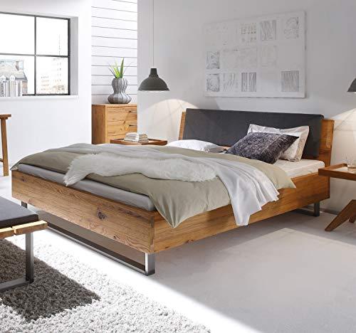 Hasena Oak Wild Wildeiche Bett Füße Indus Kopfteil Sion 180×200