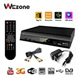 Wezone Digital Satellite Receiver 888 Plus Free to Air DVB-S2 Set Top Box MPEG-4 Full HD PVR USB
