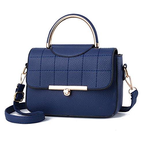 Casual Frühling Und Sommer Neue Weibliche Handtasche Schultertasche Messenger Bag,DarkBlue DarkBlue