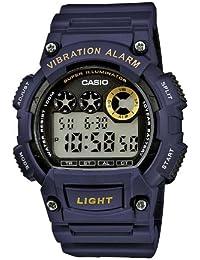 Casio Collection Orologio da Uomo Digitale con Cinturino in Resina – W-735H-2AVEF