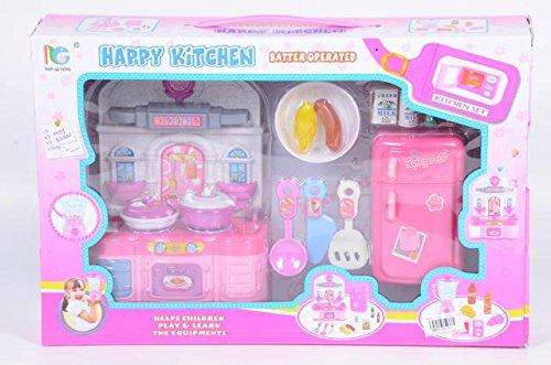 Preisvergleich Produktbild Küche-Spiel-Set mit Backofen und Kühlschrank