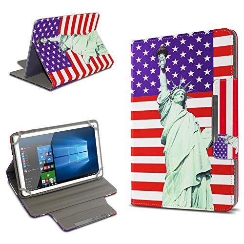 UC-Express Universal Tablet Schutz Hülle 10-10.1 Zoll Tasche Schutzhülle Tab Case Cover Bag, Motiv:Motiv 11, Tablet Modell für:Kiano Slim Tab 10.1