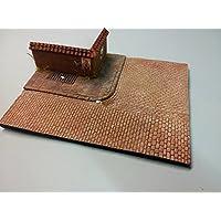 Echelle 1/35Base Diorama N ° 6–Trottoir Pave de Rue et 250mm x 200mm