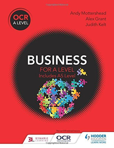 OCR Business for A Level by Andy Mottershead (2015-06-26)