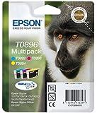 Epson Original Durabrite T0896 Monkey Multipack Ink Cartridges