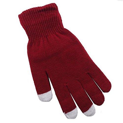 ArktisPRO Smartphone Handschuhe - Bordeauxrot