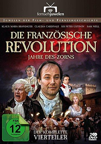 Die Französische Revolution - Jahre des Zorns - Der komplette Vierteiler (Fernsehjuwelen) [2 DVDs]