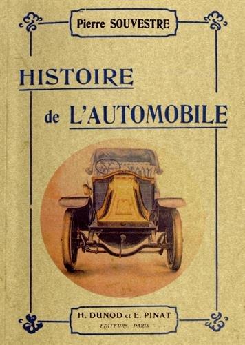 Histoire de l'automobile par Pierre Souvestre