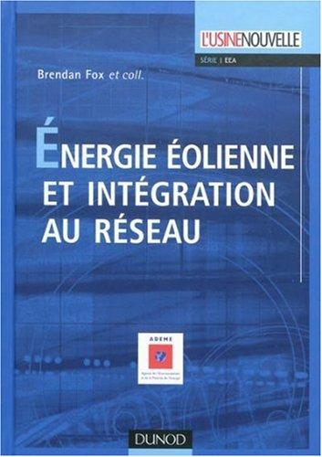 Energie olienne et intgration au rseau