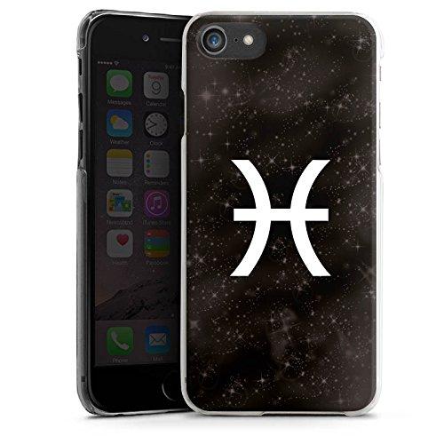 Apple iPhone X Silikon Hülle Case Schutzhülle Fische Sternzeichen Astrologie Hard Case transparent